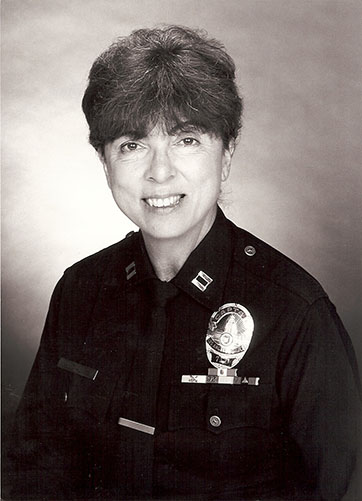 "Captain Connie Dial's official picture for the Hollywood ""Women of Distinction"" award"